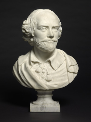 Portrait Bust of William Shakespeare, After Louis Francois Roubiliac (1695-1762)