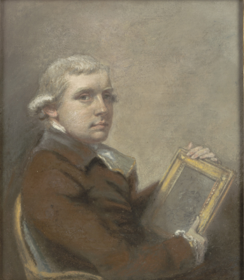 Self-Portrait, aged 31, John Raphael Smith