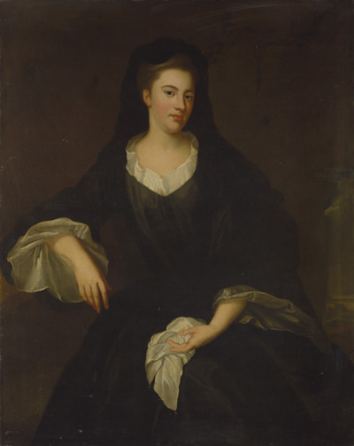 Portrait of Mary Fitzgerald, Dowager Countess of Fingall, Enoch Seeman