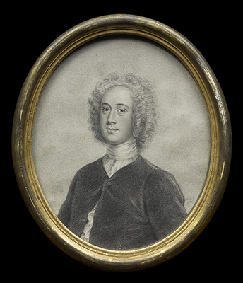 Portrait of William Somerville (1675-1742), John Smart Junior