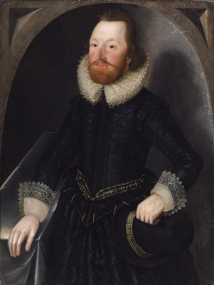 Portrait of a Member of the Towneley Family, traditionally identified as John Towneley, Attributed to John Souch