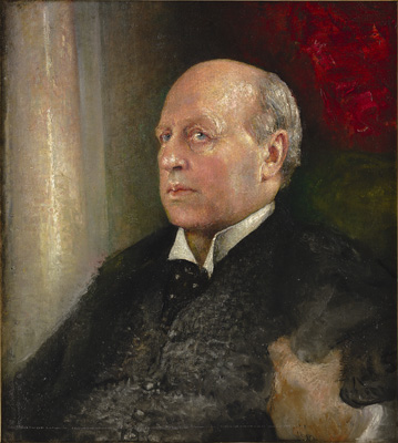 Portrait of Henry James (1843-1916), Annie Louise Swynnerton