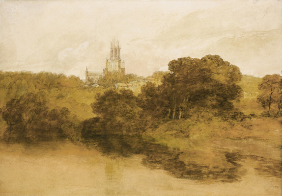 A View of Fonthill Abbey, Wiltshire, Joseph Mallord William Turner