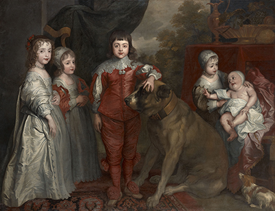 The Children of Charles I (1600-49), School of Sir Anthony Van Dyck