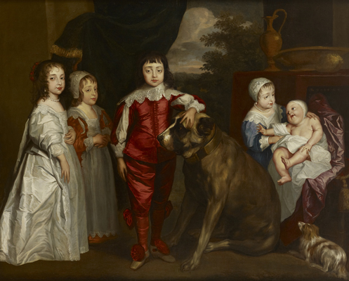 The Children of Charles I, After Sir Anthony Van Dyck (1599-1641),  English School 17th Century