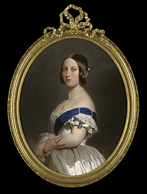 Portrait of Queen Victoria (1819-1901), Franz Xavier Winterhalter, Studio of