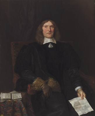 Portrait of Sir Christopher Turnor, John Michael Wright