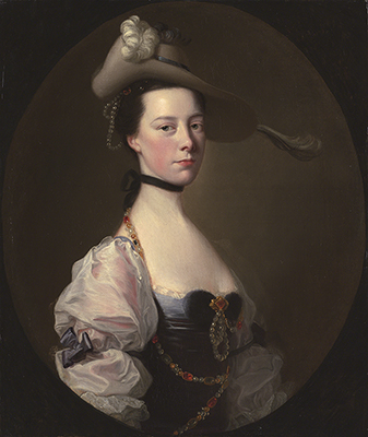 Portrait of a Lady, c.1760, Joseph Wright of Derby ARA