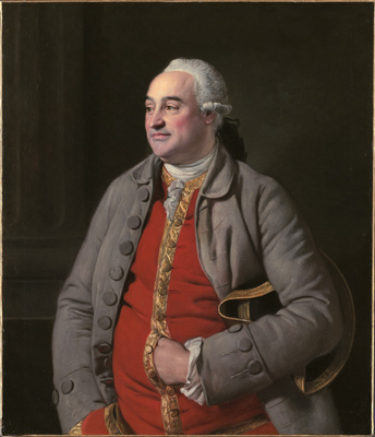 Portrait of a Gentleman, thought to be Samuel Blunt (1723–d.1796 or 1800), Johan Zoffany RA
