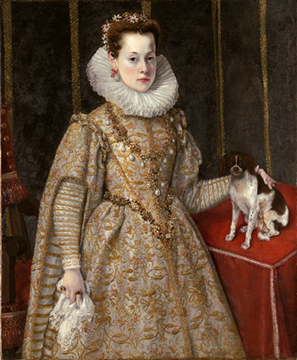 Portait of Margherita of Savoy (1589-1655), Federico Zuccaro