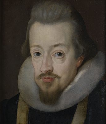 Portrait of Robert Cecil, 1st Earl of Salisbury (1563-1612), Studio of John de Critz the Elder