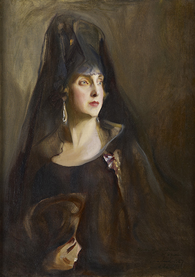 Portrait of Queen Victoria Eugénie of Spain (1887-1969), Philip de László