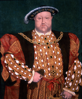 Portrait of King Henry VIII, Hans Holbein, Circle of