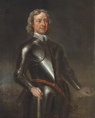 Portrait of Oliver Cromwell, Lord Protector (1599-1658), Charles Jervas