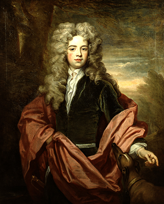 Portrait of a Young Man of the Smith family, c.1710, Sir Godfrey Kneller Bt.