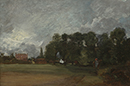 View of East Bergholt House by John Constable