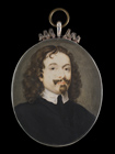 A Gentleman, thought to be William Dobson by  English School 17th Century
