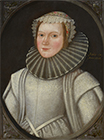 A Young Lady traditionally identified as Grace Tothill by  English School 17th Century