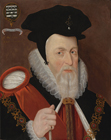 William Cecil, Lord Burghley (1520/1-1598) by Workshop of Marcus Gheeraerts the Younger