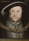 Henry VIII, Follower of Hans Holbien (1497/8–1543). by Hans  Holbein, Follower of