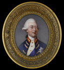 King George III, wearing Windsor unifrom by Johann Heinrich Freiherr  von Hurter