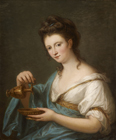 Personification of Hebe by Angelica Kauffmann RA