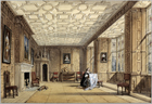 The Drawing Room at Broughton Castle by Joseph Nash
