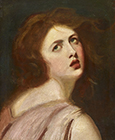 Head of Miranda (Emma Hamilton) by George Romney