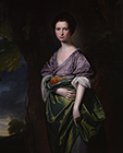 Mrs James Fletcher (née Fell) by George Romney
