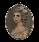 Portrait miniature of a Lady by John Smart