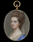 Portrait miniature of a Lady, possibly of the Hay family by John Smart