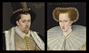 King James VI of Scotland & Anne of Denmark by Adrian Vanson