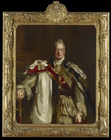 King William IV (1765-1837), Three-Quarter Length, Wearing the Robes of the Gart by David Wilkie