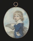 A Young Boy, thought to be Sir George Francis Seymour by Richard Cosway