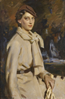 Jane Austen in Beige, Autumn by Wilfred Gabriel de Glehn