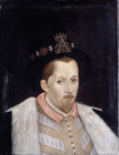 King James VI and I by Adrian Vanson