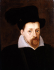 King James VI and I by  English School