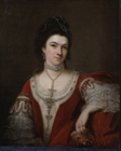 The Duchess of St Albans by Nathaniel Hone the Elder
