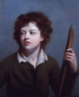 A young boy with a staff by John Opie