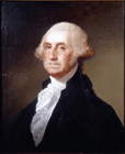 President Washington by Studio of Gilbert Stuart