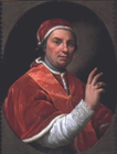 Pope Clement XIV by Giovanni Domenico Porta