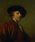 Self portrait by Sir Joshua Reynolds PRA