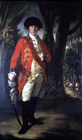 East India Company Officer by Tilly Kettle