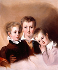 The Howell Brothers by Thomas Sully