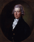 William Pitt PM by Gainsborough Dupont
