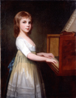 Miss Margaret Casson child composer by George Romney