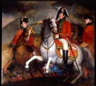 Wellington at the Battle of the Pyrenees by John Singleton Copley