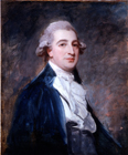 Sketch of a gentleman by George Romney
