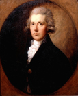 William Pitt PM by Thomas Gainsborough RA