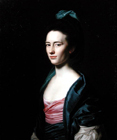 Frances Montresor of New York by John Singleton Copley